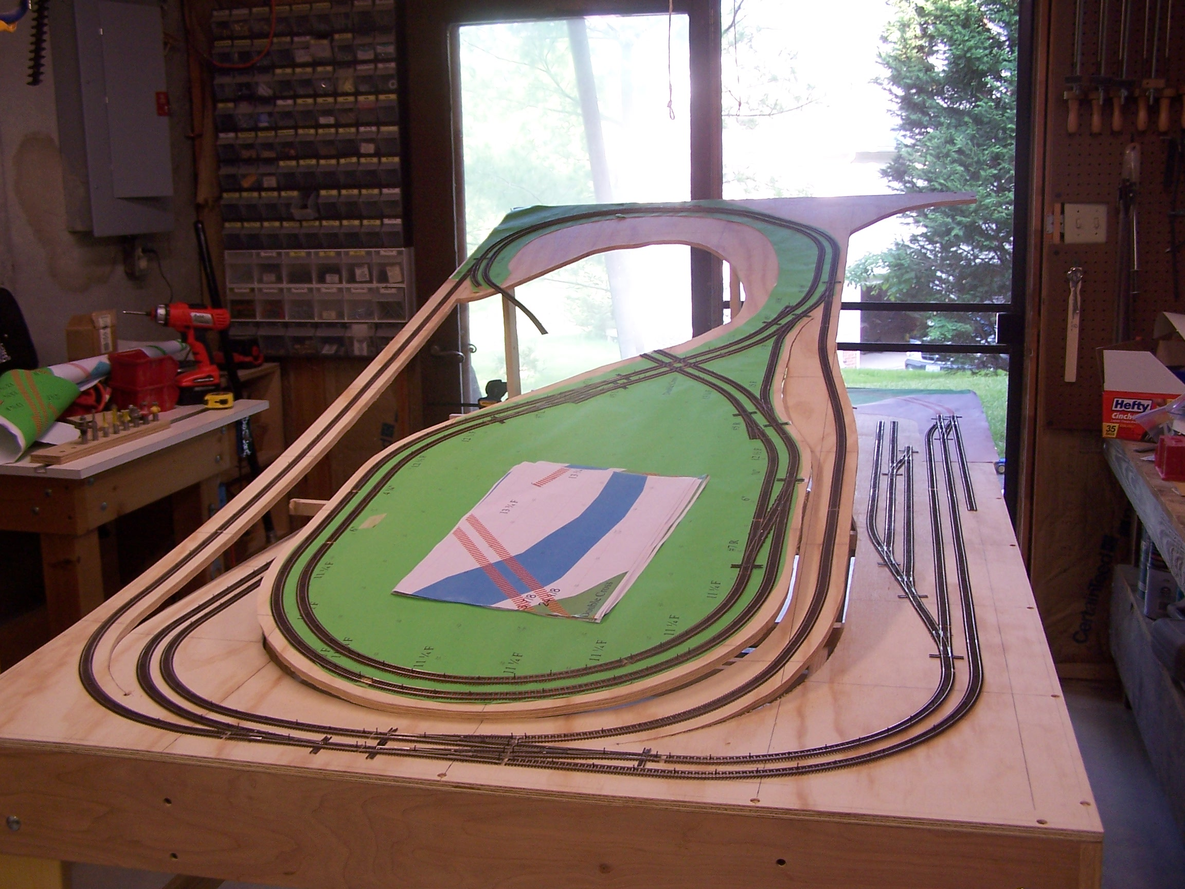 Bill Bentgen Model Railroad Atlas Layout Wiring Diagram Top Ramps Are All One Piece With Bottom