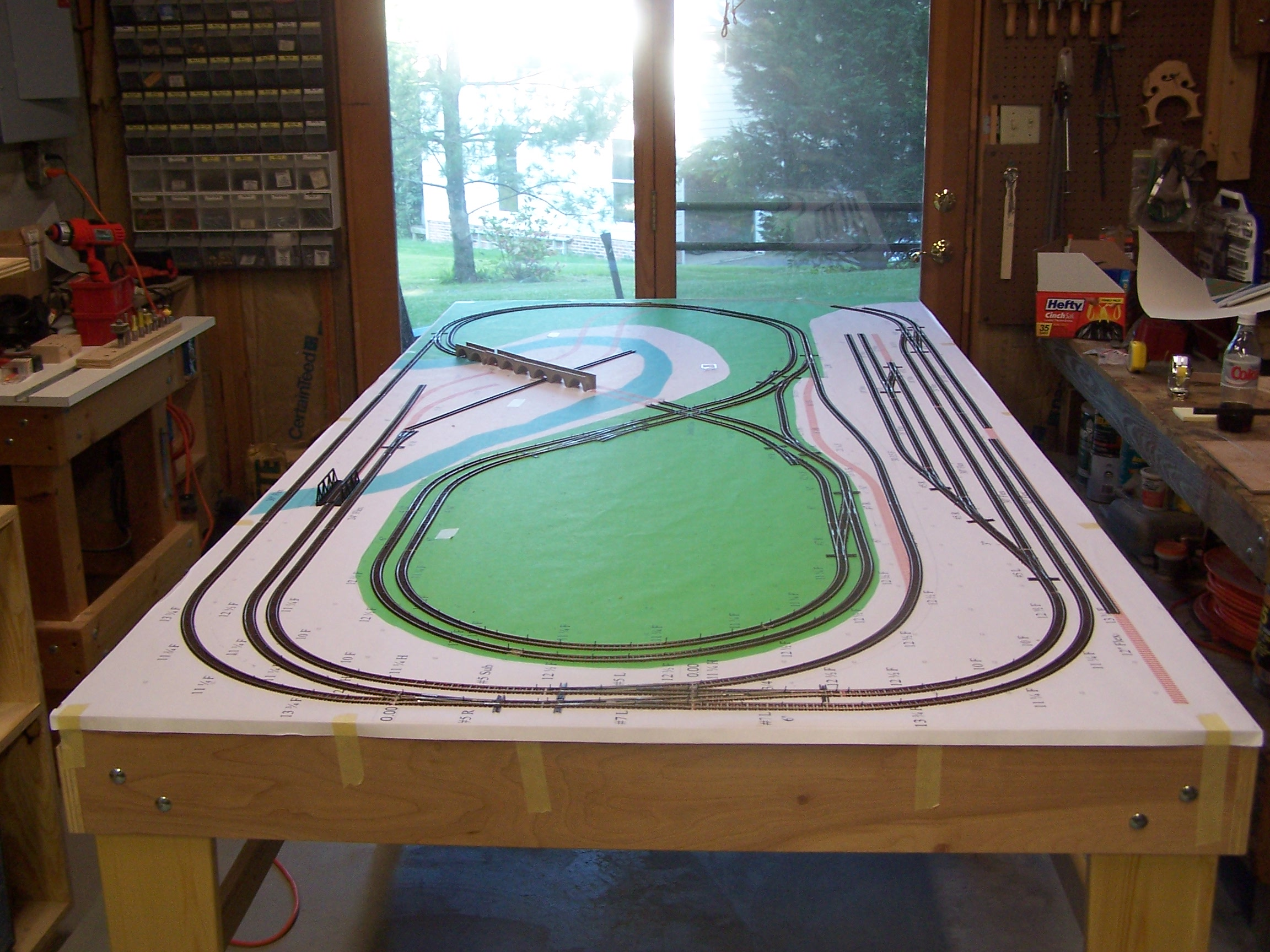 Bill Bentgen Model Railroad For Ho Train Layout Wiring Diagrams