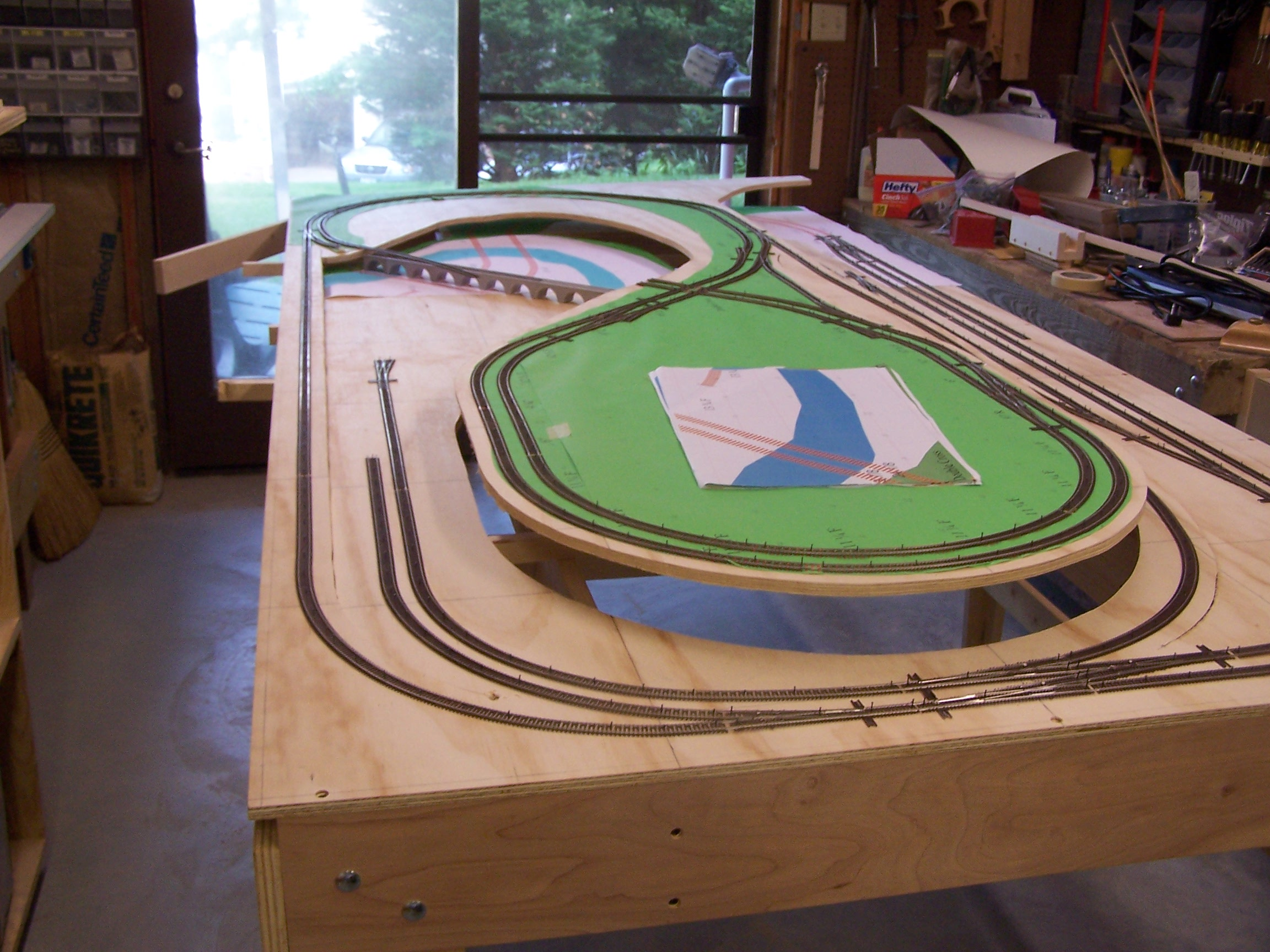 Bill Bentgen - Model Railroad